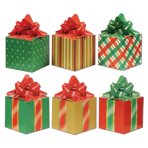 "Christmas Favor Boxes, Size 3¼"" x 5¾"""