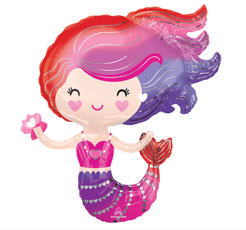 "30"" Supershape, Diseño Lovely Mermaid Supershape"