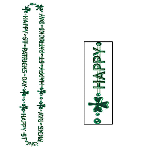 St Patrick's Day Collares-Of-Expression, Size 36""