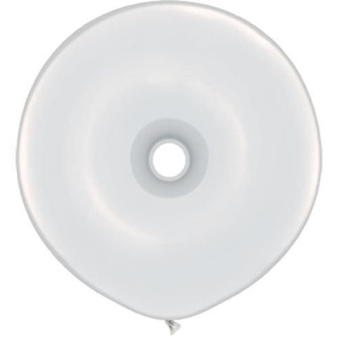 "16"" Geo Dona, Latex Solido, Blanco"