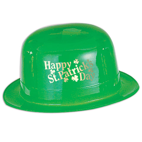 Plastic Happy St Patrick's Day Derby
