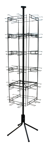 48 PEG FLIP SCAN WIRE RACK