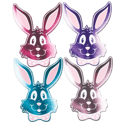 Foil Bunny Silhouettes, Size 15""