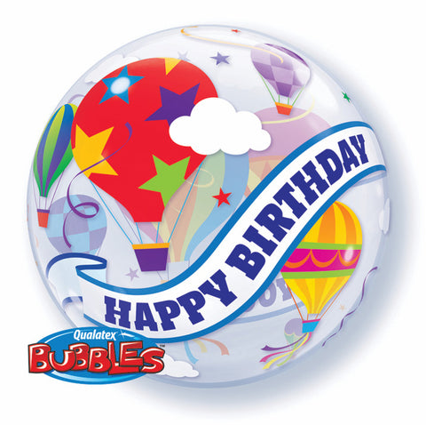 "22"" Burbuja, Happy Birthday To You! con Globos Aerostaticos"