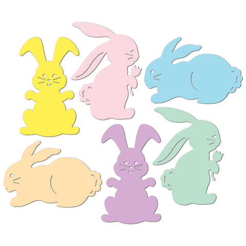Bunny Silhouettes, Size 15½""