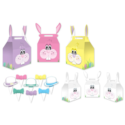 "Bunny Favor Boxes, Size 3"" x 5¼"""