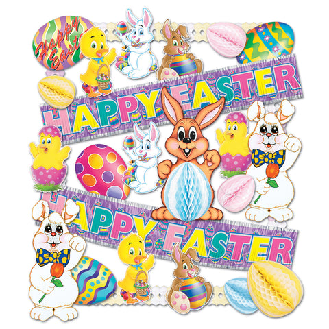 Easter Decorating Kit - 26 Pcs