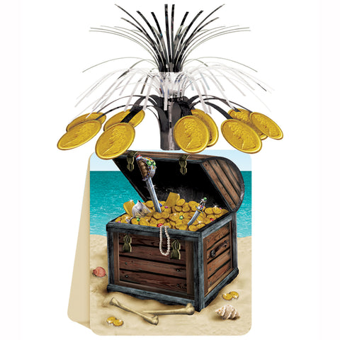 Pirate Treasure Centerpiece, Size 13""