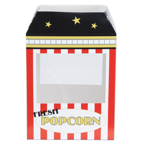 "Popcorn Machine Centerpiece, Size 15¼"" x 8¼"" x 10½"""