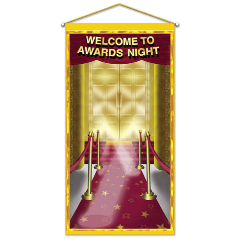 "Awards Night Door/Wall Panel, Size 30"" x 5'"