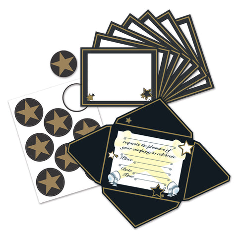 "Awards Night Invitaciones & Seals, Size 4½"" x 5¾"""