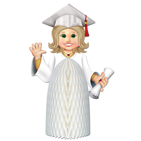 Girl Graduate Centerpiece, Size 11""