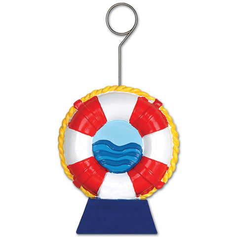 Life Preserver Photo/Balloon Holder, Size 6 Oz