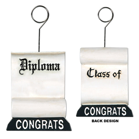 Diploma Photo/Balloon Holder, Size 6 Oz