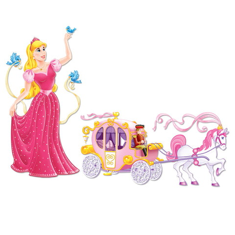 "Princess & Carriage Props, Size 5' 4"" & 5' 4½"""