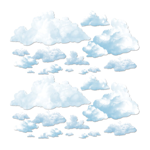 "Fluffy Cloud Props, Size 4""-5' ½"""