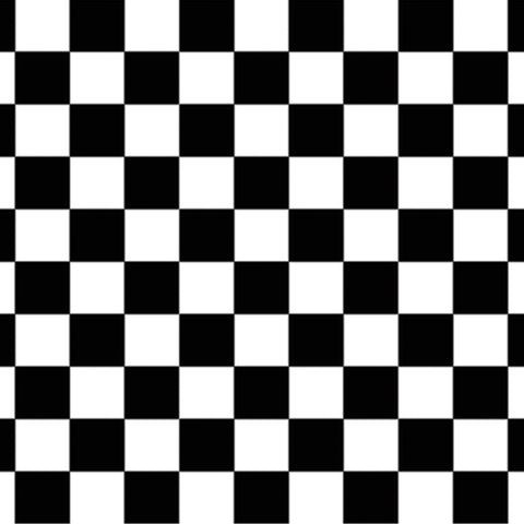 Checkered Backdrop, Size 4' x 30'