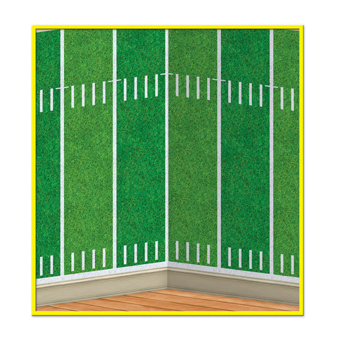 Football Field Backdrop, Size 4' x 30'