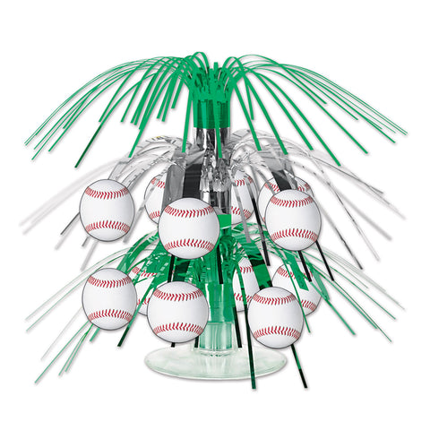 Baseball Mini Cascade Centerpiece, Size 7½""