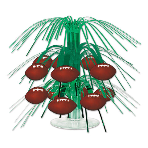 Football Mini Cascade Centerpiece, Size 7½""