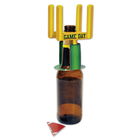 Football Goal Post Bottle Toppers, Size 5½""