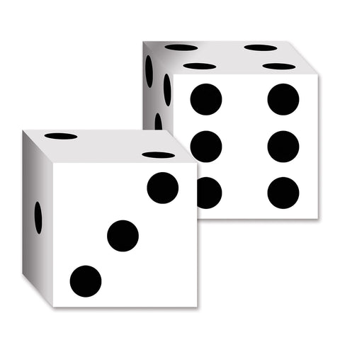 "Dice Card Boxes, Size 6½"" x 6½"""
