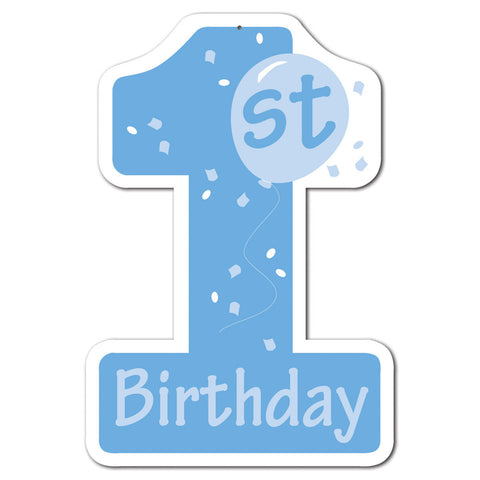 1st Birthday Cutout, Size 16""