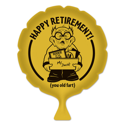 Happy Retirement! Whoopee Cushion, Size 8""