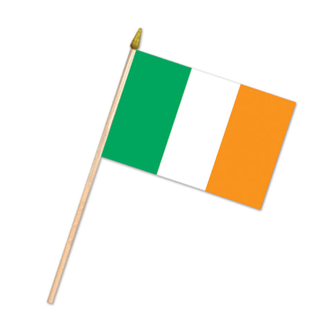 "Irish Flag - Rayon, Size 4"" x 6"""
