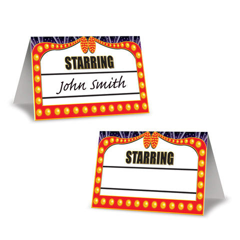 "Awards Night Place Cards, Size 2½"" x 4¼"""