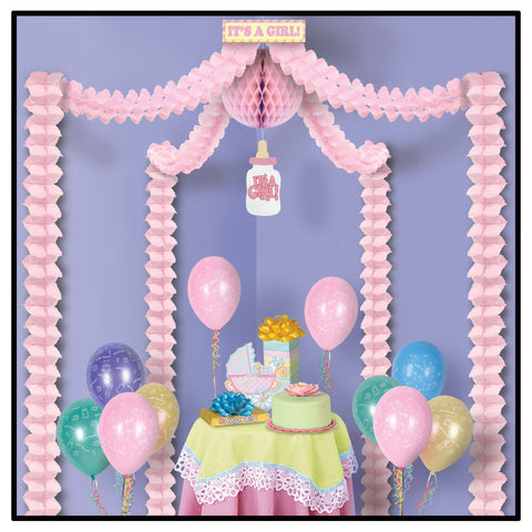 It's A Girl! Party Canopy