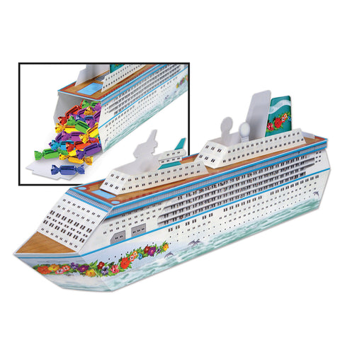 Cruise Ship Centerpiece, Size 13¼""