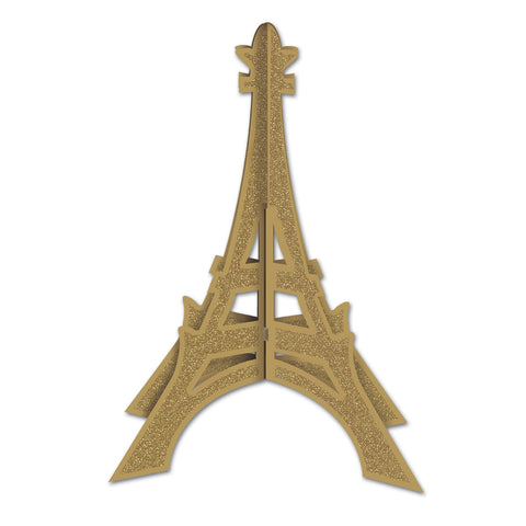 3-D Glittered Eiffel Tower Centerpiece, Size 12""