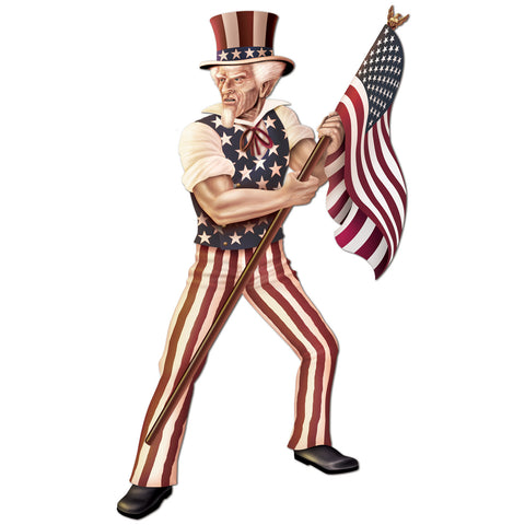 Jointed Uncle Sam, Size 5' 6""