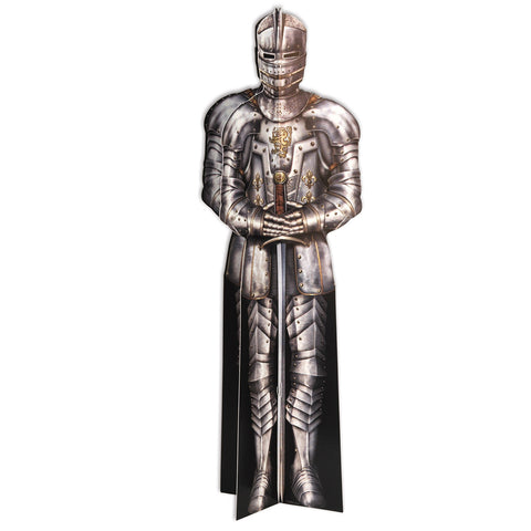 3-D Suit Of Armor Centerpiece, Size 12""