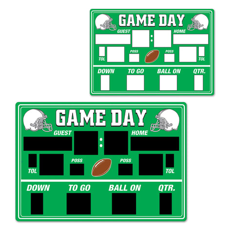 Chalkboard Game Day Scoreboard Cutout, Size 21¾""
