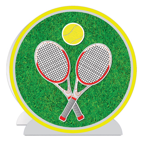 3-D Tennis Centerpiece, Size 10""