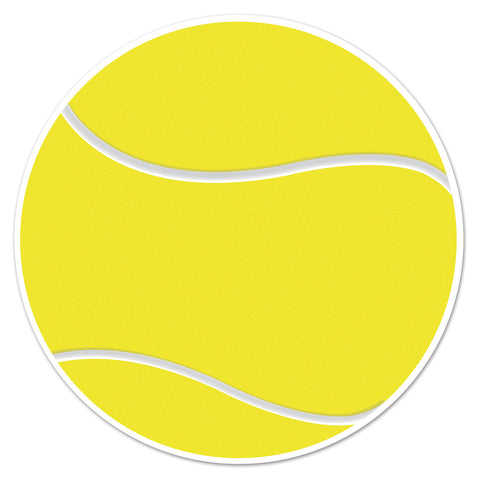 Tennis Ball Cutout, Size 10""