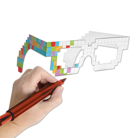 8-Bit Color Your Own Eyeglasses