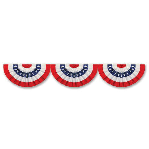 "Jointed Patriotic Bunting Cutout, Size 12"" x 6'"