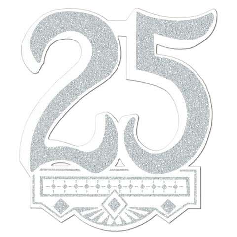 25th Anniversary Crest, Size 14""