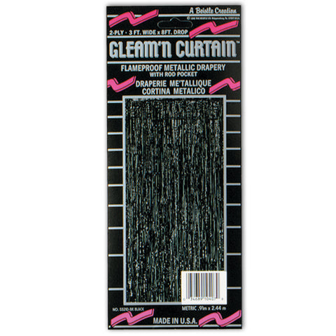 2-Ply FR Gleam 'N Curtain, Size 8' x 3'