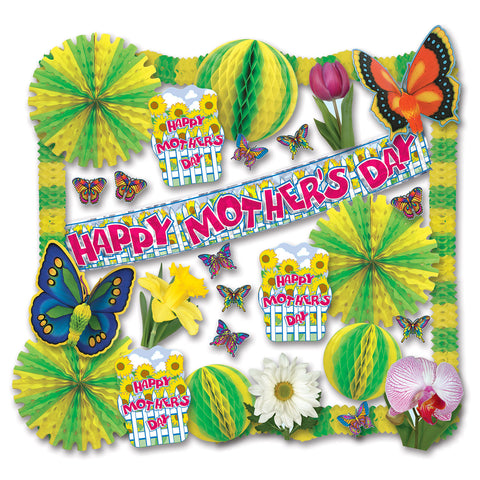Mother's Day Decorating Kit - 30 Pcs