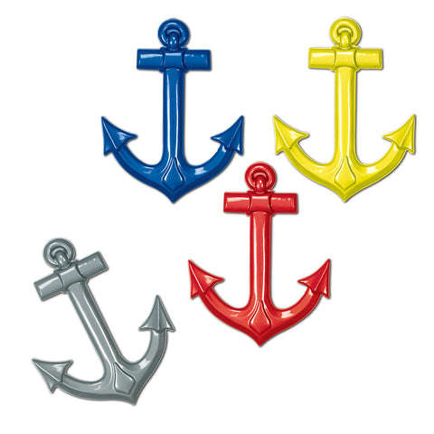 Plastic Ship's Anchors, Size 25""