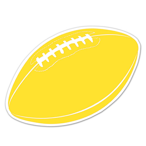 Football Cutout, Size 18""