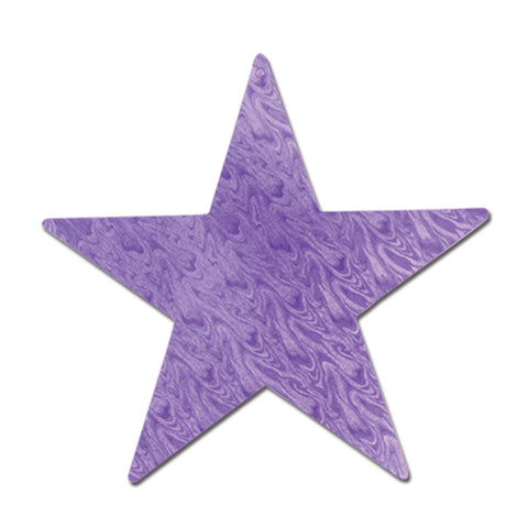 Embossed Foil Star Cutout, Size 12""