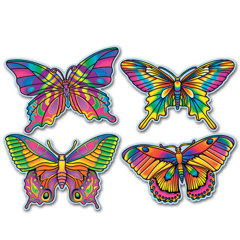 Butterfly Recortes, Size 16""
