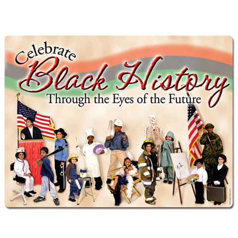 "Black History Sign, Size 18"" x 23"""