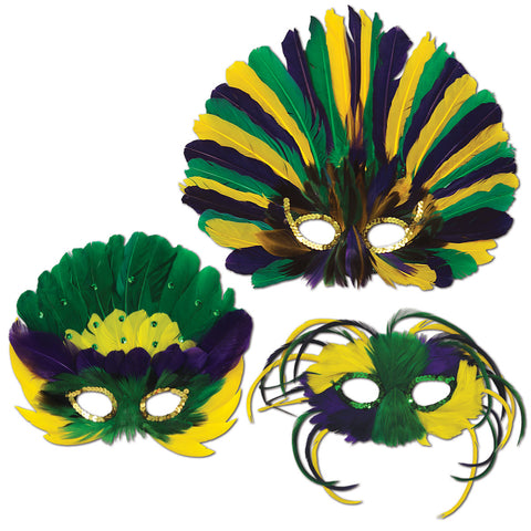 Feathered Máscaras