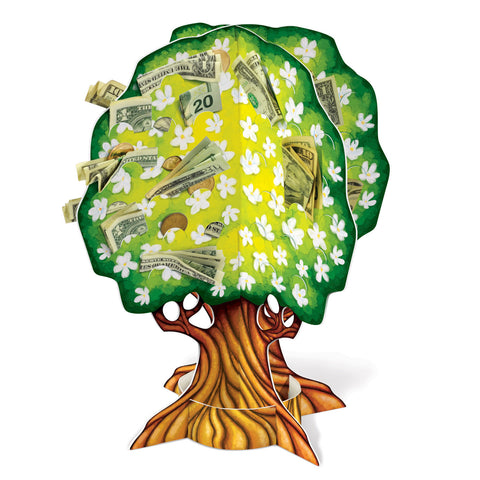 3-D Wedding/Anniversary Money Tree, Size 15""